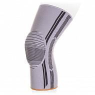 Бандаж на коленный сустав Экотен с силиконовым пателлярным кольцом KS-E01.