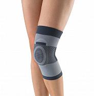 Бандаж на коленный сустав с силиконовым кольцом T- 8520.